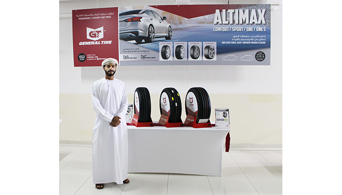 Suhail Bahwan Automobiles launches General Tyres in Oman