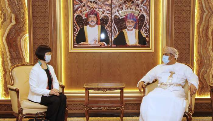 Minister of Transport, Communications and IT receives Chinese Ambassador