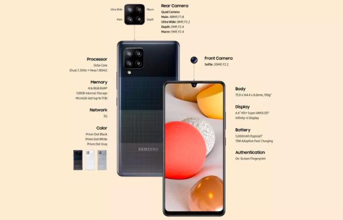 """""""سامسونج"""" تكشف عن أرخص هواتفها بتقنية """"الجيل الخامس"""""""