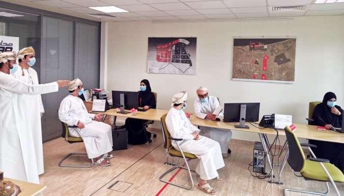 برنامج تدريبي لموظفي المحطة الواحدة بالمناطق الحرة
