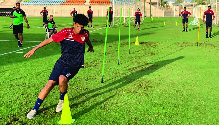 Oman's national junior football team internal camp until October 24