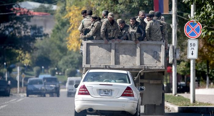 Azerbaijan strikes Armenian missile site amid shaky Nagorno-Karabakh cease-fire