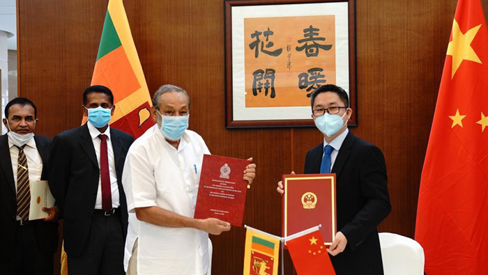 Sri Lanka, China sign supplementary agreement on water supply, technology cooperation