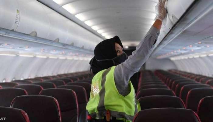 دراسة تكشف احتمال الإصابة بكورونا على متن الطائرة