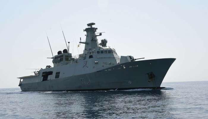 Royal Oman Navy rescues Iranian boom boat