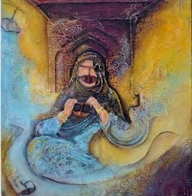 """بمناسبة يوم المرأة العمانية.. وزارة """"الثقافة"""" تنظم معرضا افتراضيا للفنانات التشكيليات"""