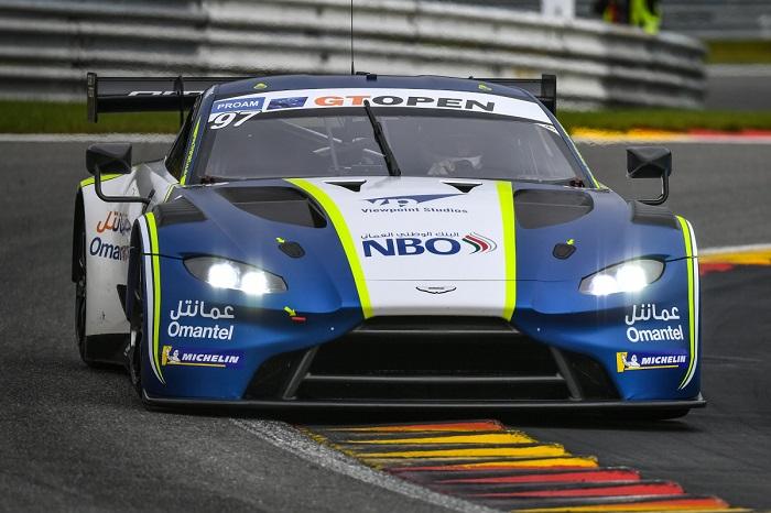 Positive start to maiden international GT Open weekend for Al Harthy