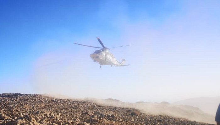 Police Aviation rescues hiker in Oman