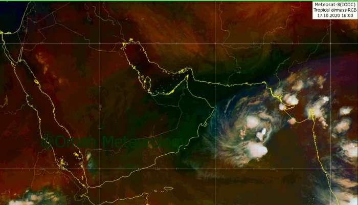 آخر مستجدات الحالة المدارية في بحر العرب