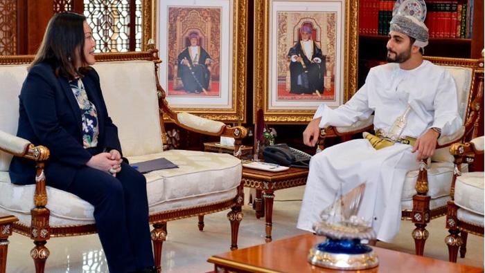 Sayyid Theyazin meets with US ambassador