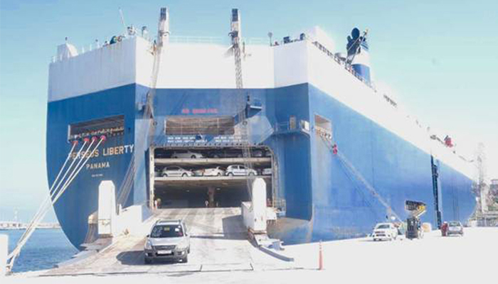 Salalah Port achieves 100% growth in RORO business