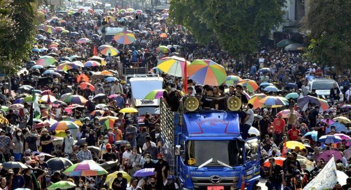 Thai police probe 4 broadcasters, restrict Telegram messaging app