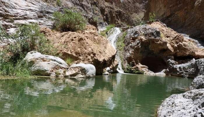 """وادي """"بني خروص"""" بالعوابي إحدى الوجهات السياحية المهمة بالسلطنة"""
