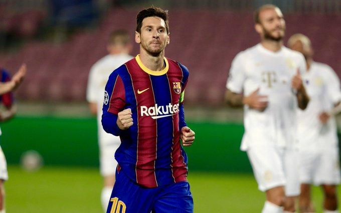 Koeman satisfied with Messi's performance