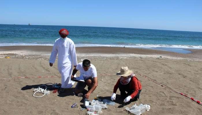 Field survey of Oman's seashores underway