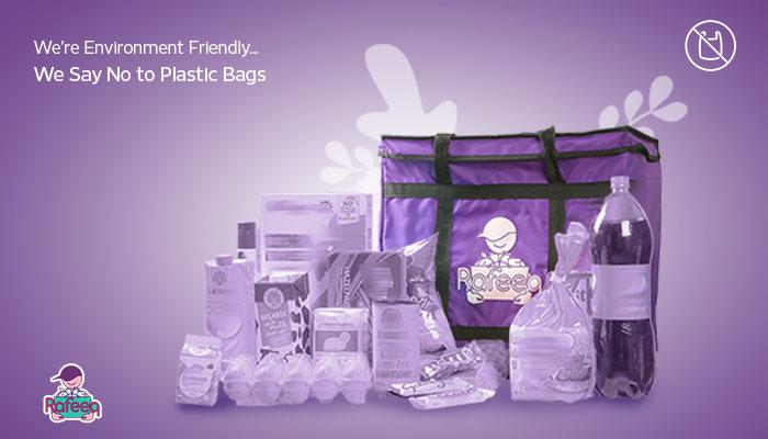 Rafeeq.om saves more than 100,000 plastic bags