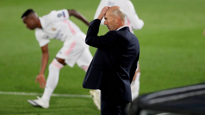 Real Madrid don't deserve results like this Zidane after defeat
