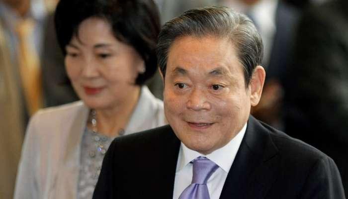 شركة سامسونغ تعلن وفاة رئيسها عن عمر ناهز 78 عاما