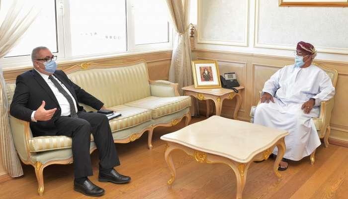 Health Minister receives WHO representative
