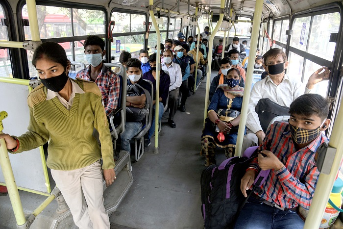 India records 48,268 new coronavirus cases