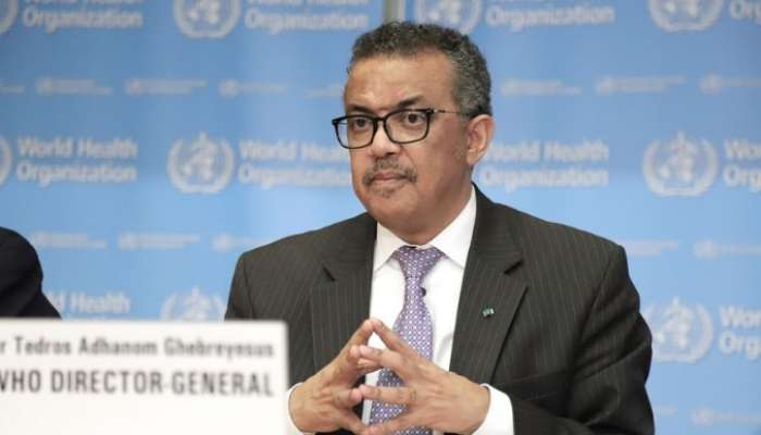 WHO director general self-isolates after coming in contact with COVID-19 infected person