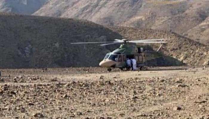 طيران الشرطة ينقذ شخصًا إثر سقوطه بوادي في الخابورة