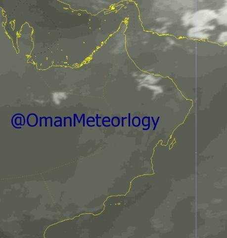 الأرصاد: هطول أمطار متفرقة على أجزاء من جبال الحجر