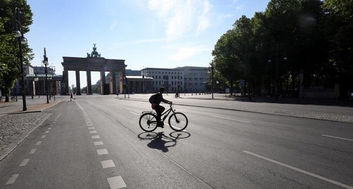 German leaders warn coronavirus lockdown measures to last months