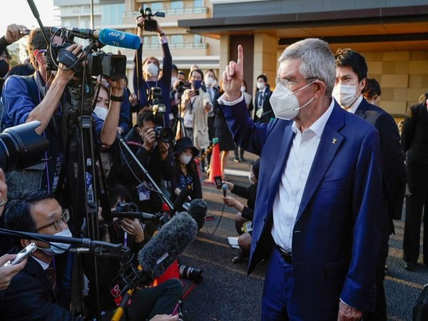 IOC president gets the first glimpse of Athletes Village