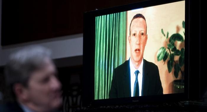 Twitter, Facebook CEOs defend election handling in Congress