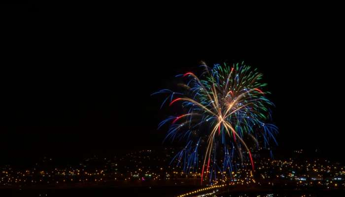 In Pictures: Fireworks light up Oman's 50th National Day