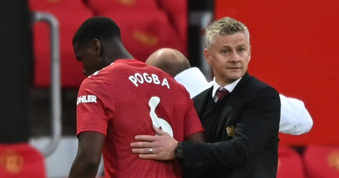 Pogba has not been 'happy' with his performances, says Solskjaer