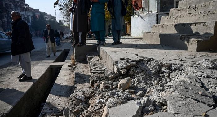 Several dead as barrage of rockets hits Kabul