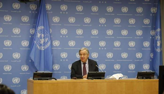 UN chief urges G20 leaders to act, cooperate before they meet online