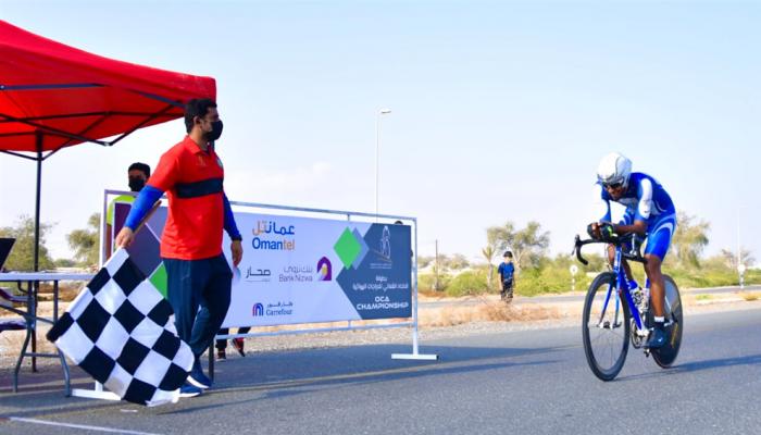عياد يحرز المركز الاول في فئة الناشئين لسباق المرحلة الثانية للدراجات الهوائية
