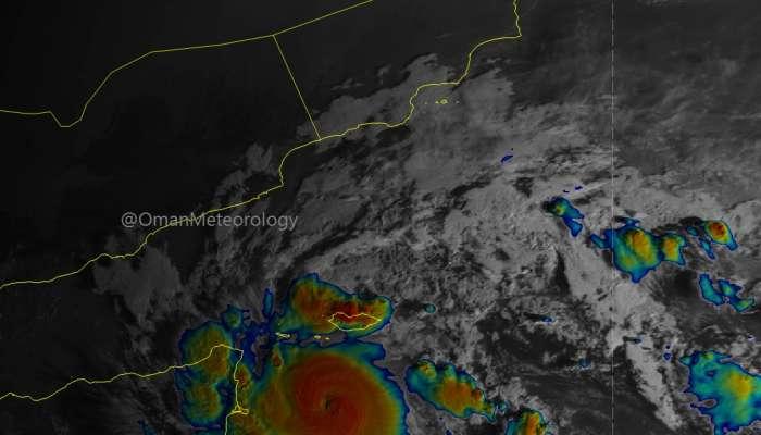 Tropical depression in Arabian Sea intensifies