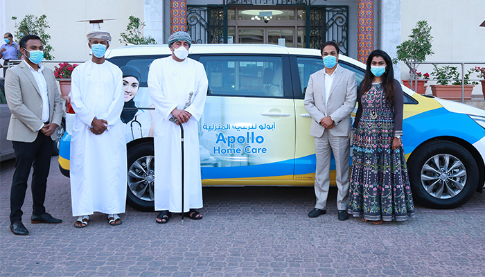 Apollo Hospitals Muscat launches 'Home Service' healthcare at your doorstep