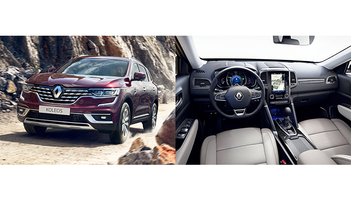 Customers acclaim safety, fuel efficiency and infotainment options of Renault Koleos