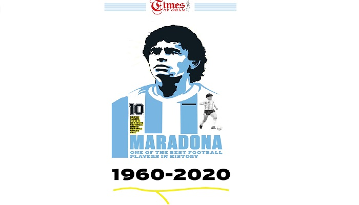 Diego Maradona- One of the best football players in history.