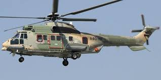 سلاح الجو يقوم بعملية إجلاء طبي لمواطن تعرض لحادث سير