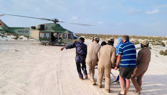 ROP rescues injured foreigner