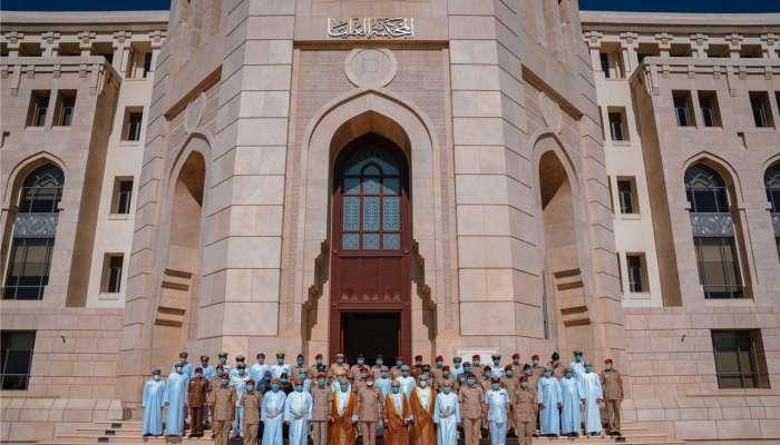 رئيس المحكمة العليا يستقبل منتسبي  دورة الدفاع الوطني الثامنة