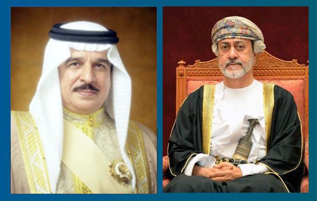 جلالة السلطان يتلقى برقية شكر من ملك البحرين