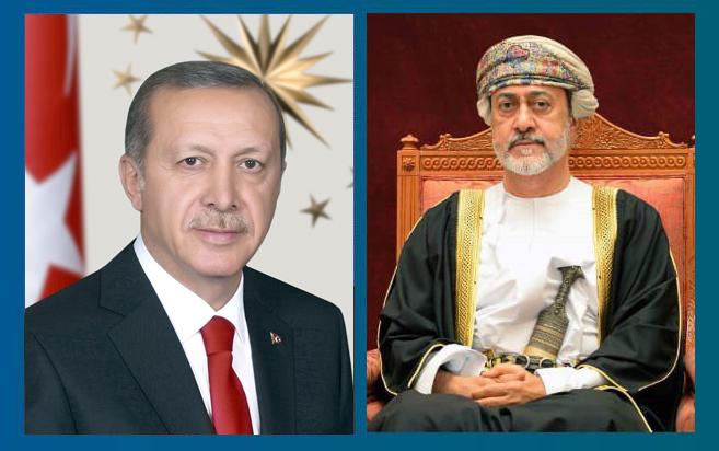 جلالة السلطان يتلقى برقية شكر من رئيس جمهورية تركيا
