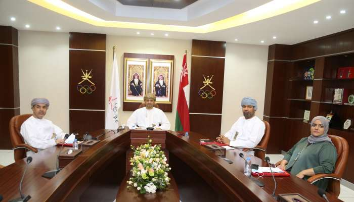 دمج دورة الألعاب الرياضية الشاطئية مع دورة الألعاب الرياضية الخليجية  في إجتماع رؤساء اللجان الأولمبية الخليجية