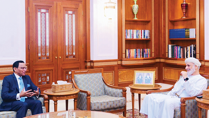Oman, Sri Lanka discuss ways to promote bilateral relations