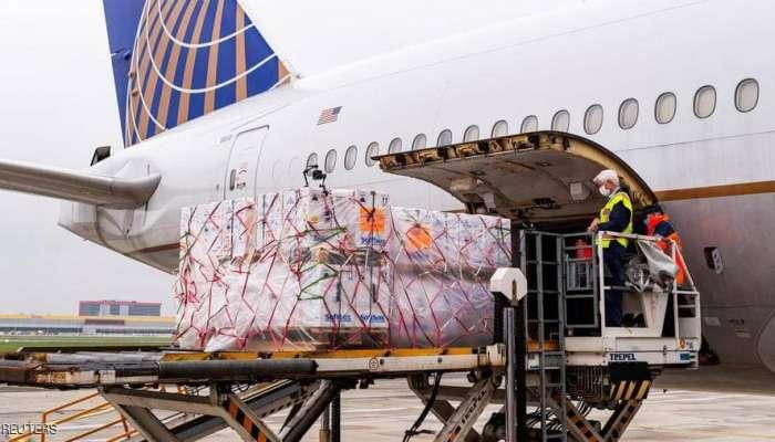 طائرات وشاحنات وحاويات.. أمريكا تبدأ توزيع لقاح فايزر