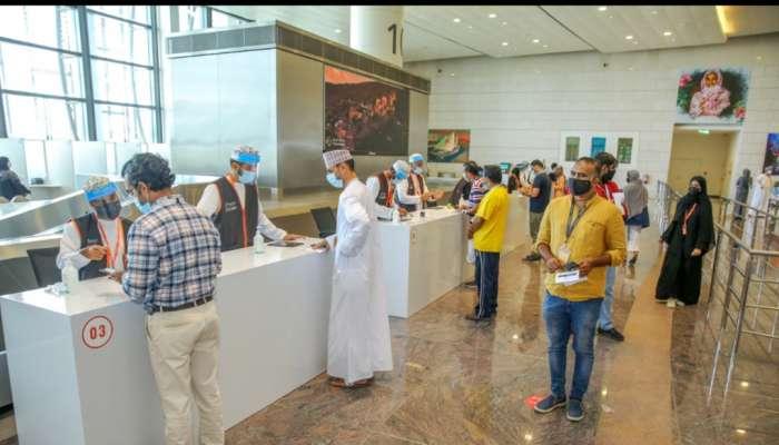 مطارات عمان تنشر آخر المستجدات بشأن إجراءات السفر المتعلقة بفيروس كورونا
