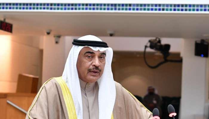 رئيس وزراء الكويت: أمن الخليج كل لا يتجزأ.. وسنسعد جميعًا بعودة العلاقات الطبيعية قريبًا