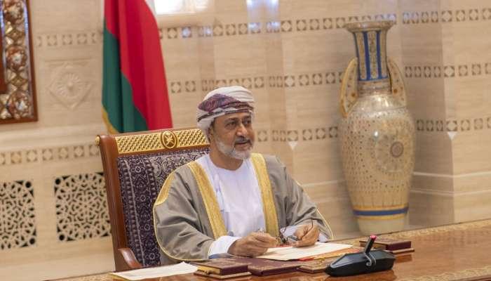 جلالة السلطان يشيد بمبادرة أمير الكويت الراحل التي تكللت بخطوات إيجابية لـ لم الشمل الخليجي